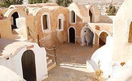 Ksour a berberské vesnice
