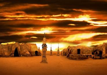 "Décor star wars ""Tatooine"""
